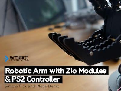 Control Robotic Arm with Zio Modules (Part 4)