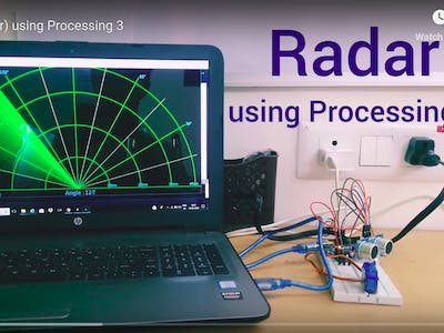 Radar (SONAR) Using Processing 3