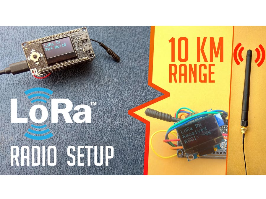 LoRa ESP32 Radios - Easy Getting Started Tutorial - Hackster io