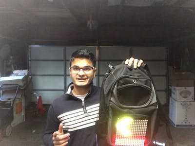 Voice Controlled Scooter Lights and Garage Door