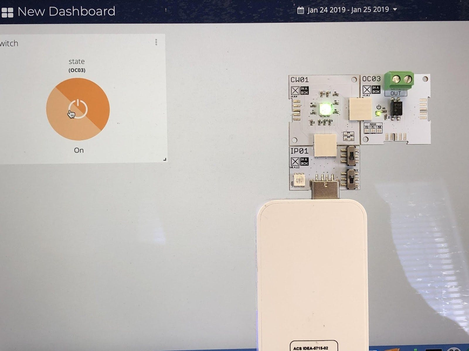 Control Any Low-Voltage Device Remotely Using OC03 and CW01