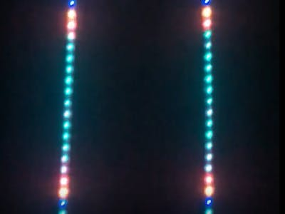 Translightion Board (Controllable Music Visualizer)