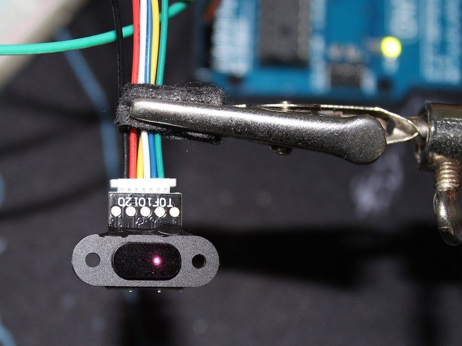 ToF 10120 Laser Rangefinder to Measure Distance + LCD