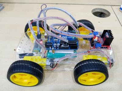 Bluetooth Control RC Car