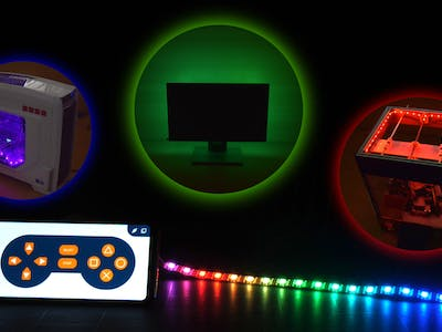 Control the rgb led lights using your smartphone arduino - Control lights with smartphone ...