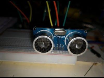 Ultrasonic Sensor with PIC18F45K22 Microcontroller