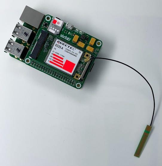Raspberry Pi SixFab IoT Gateway Quickstart - Hackster io