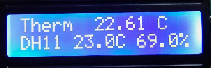 LCD output