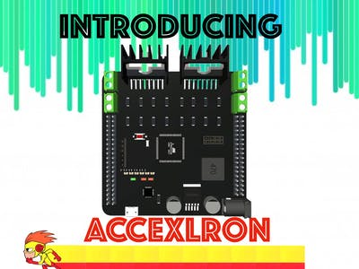 Accexlron - A Rapid Prototyping Board