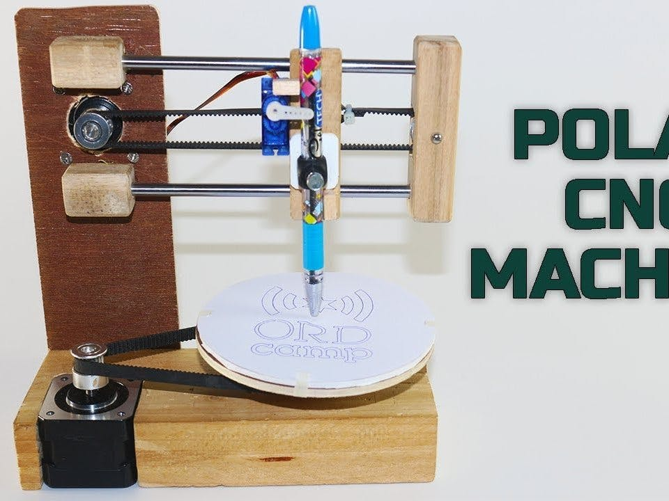 Polar CNC Drawing Machine