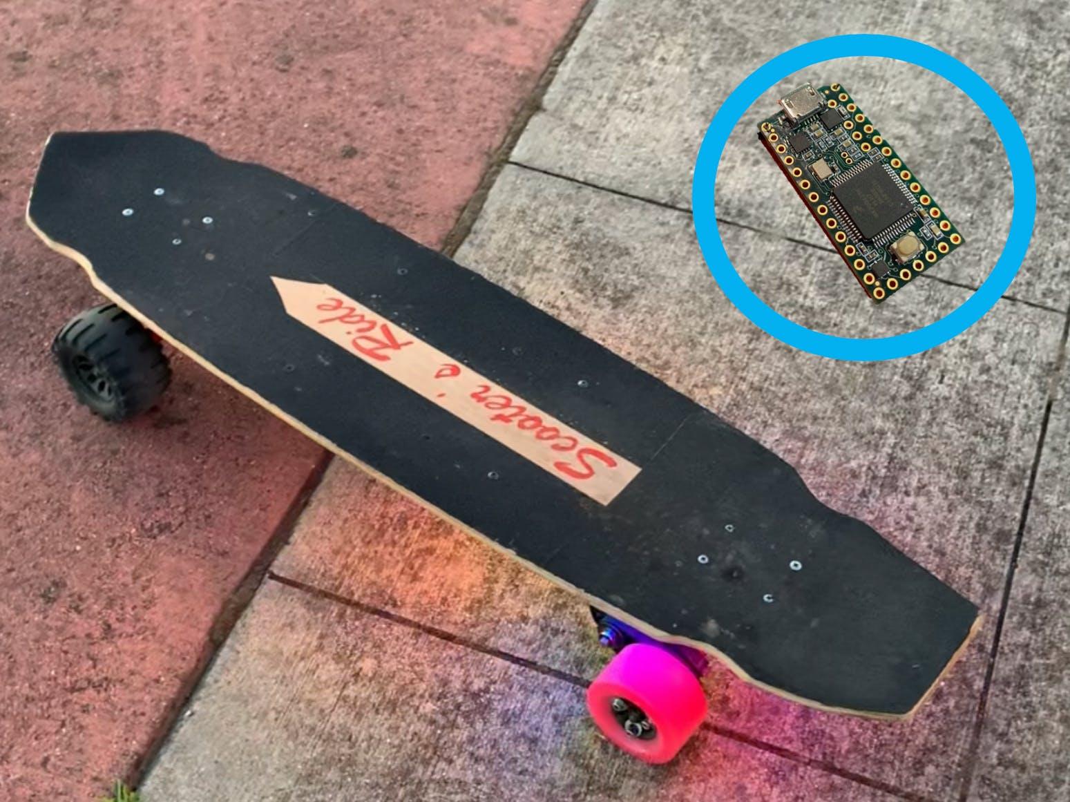 Arduino-Powered E-Skateboard Lighting