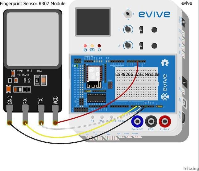 IoT Based Fingerprint Attendance System Using Evive