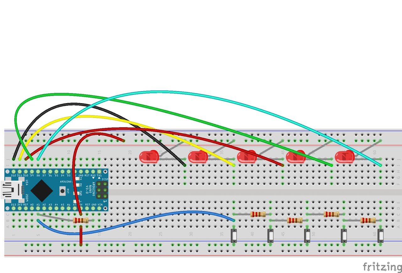 100+ Switches in a Single Pin of Arduino - Arduino Project Hub