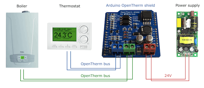 Connect Your Central Heating to Arduino - Arduino Project Hub
