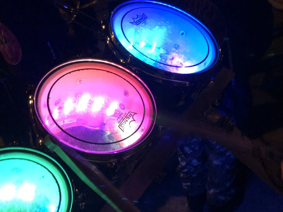 LED-Drums