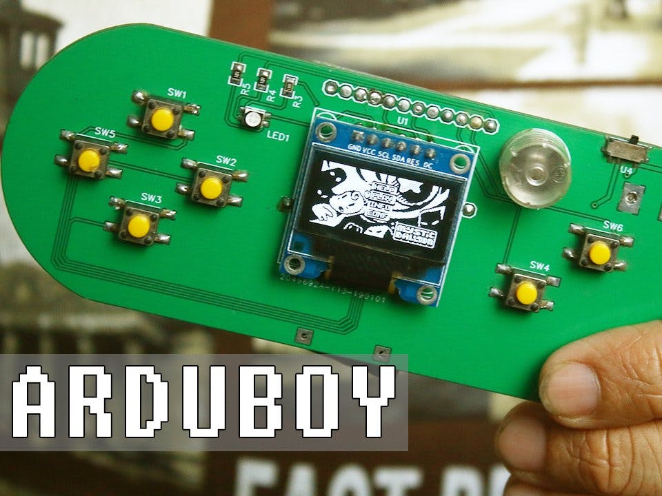 Handheld Gaming Console | Arduboy Clone