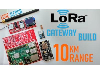 $15 LoRa Gateway/Node ESP8266 OLED Display PCB Build