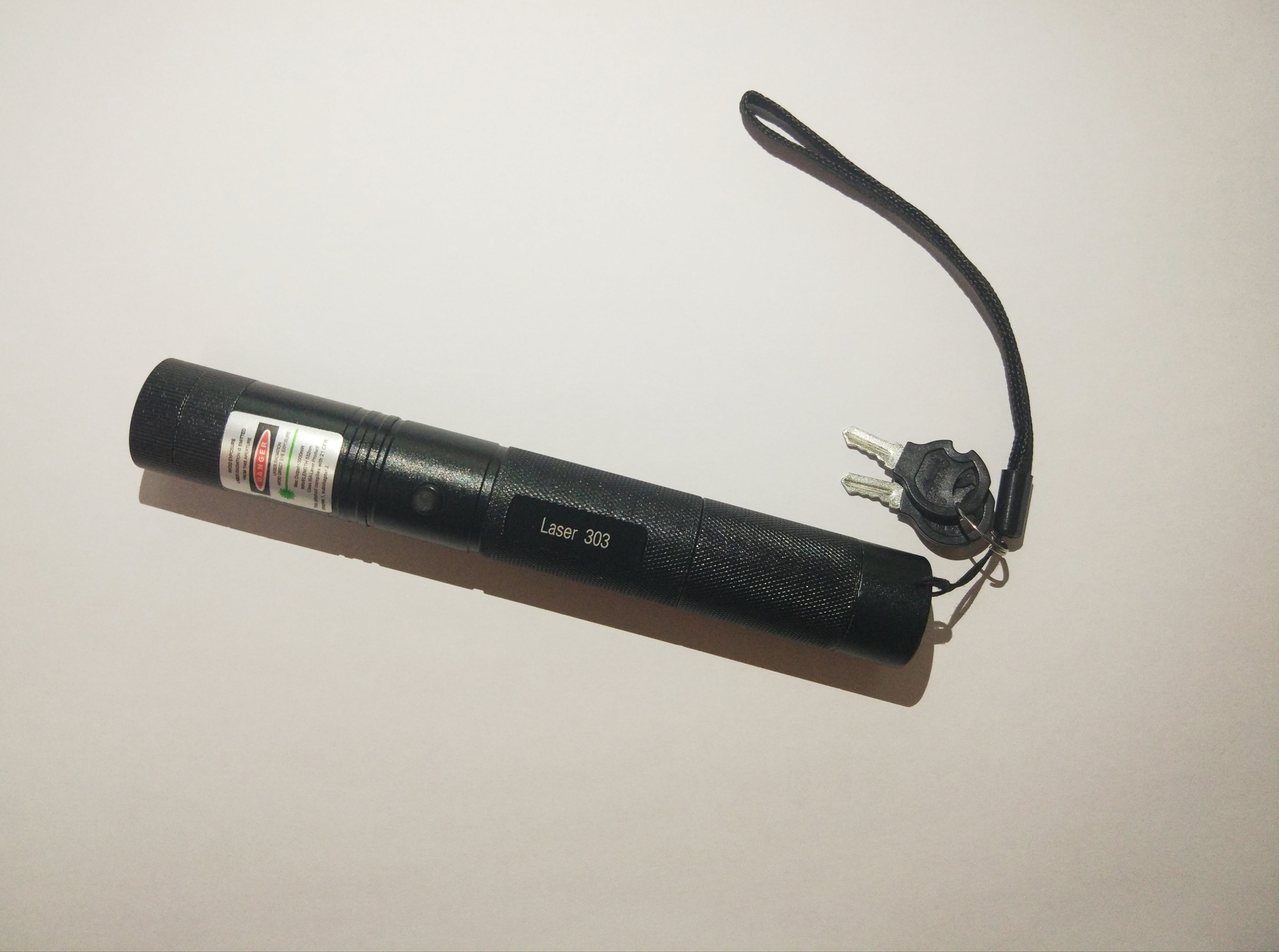 We used a cheap laser sold in sites such as amazon,ebay, etc...