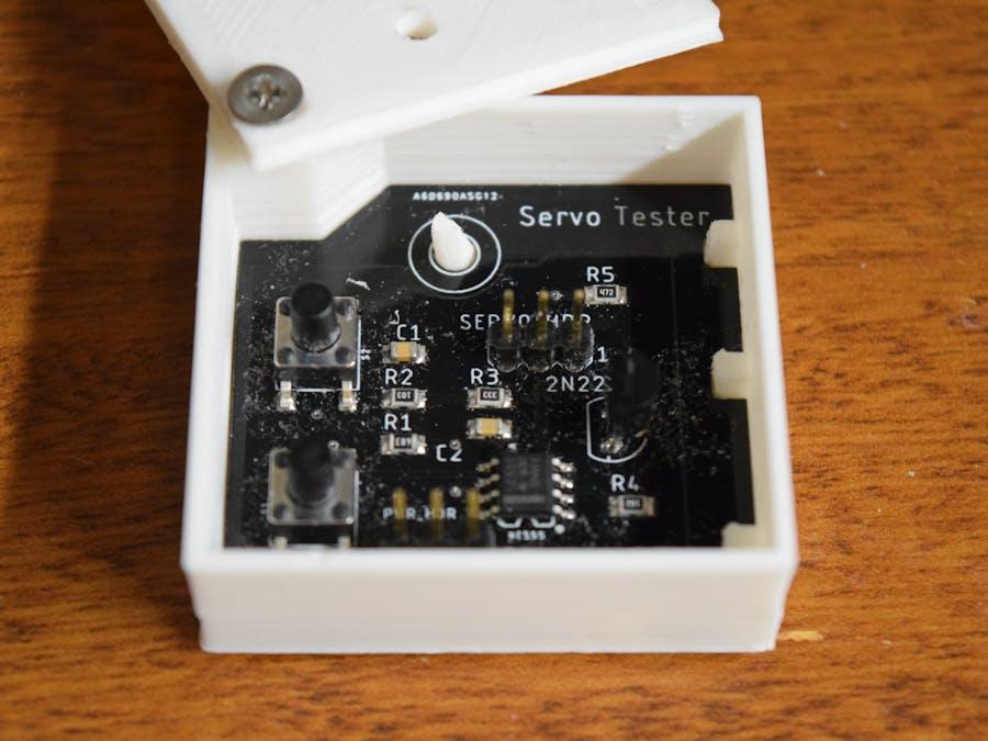 $0.45 Servo Tester Board