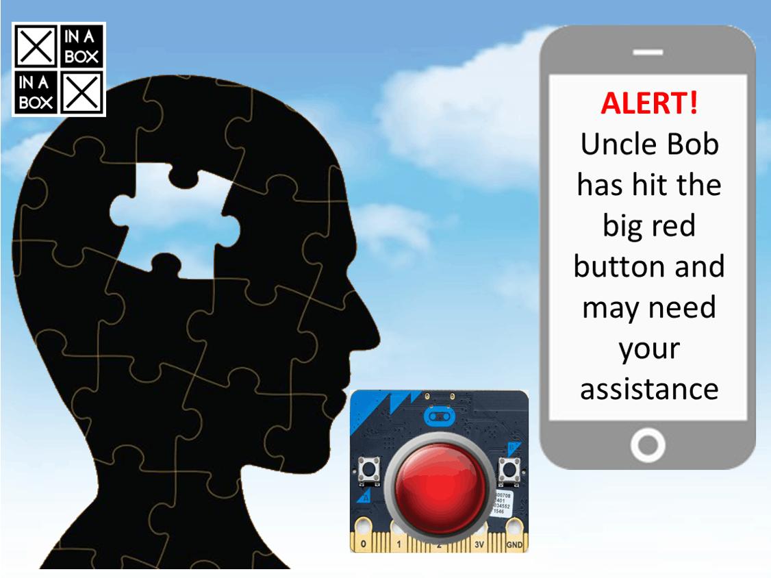 Panic Button Using XinaBox, micro:bit and Ubidots