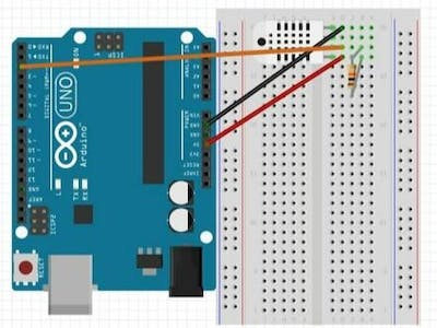 "Project 005: Arduino ""DHT"" Humidity Sensor Project"