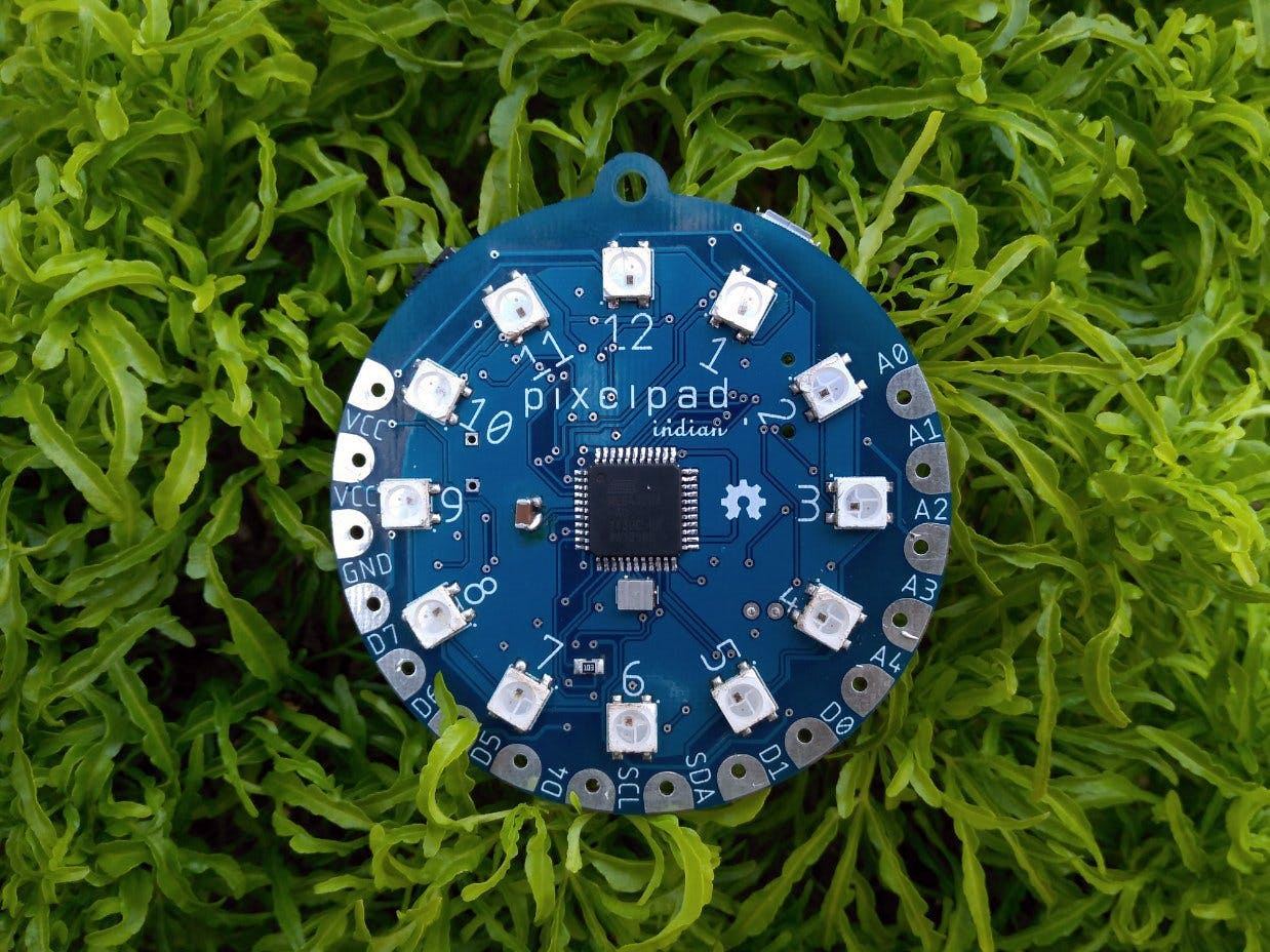 PixelPad Indian: Electronic Development Badge