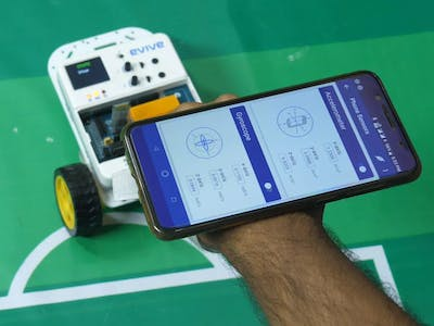 Making a Gesture Controlled Robot Using Your Smartphone