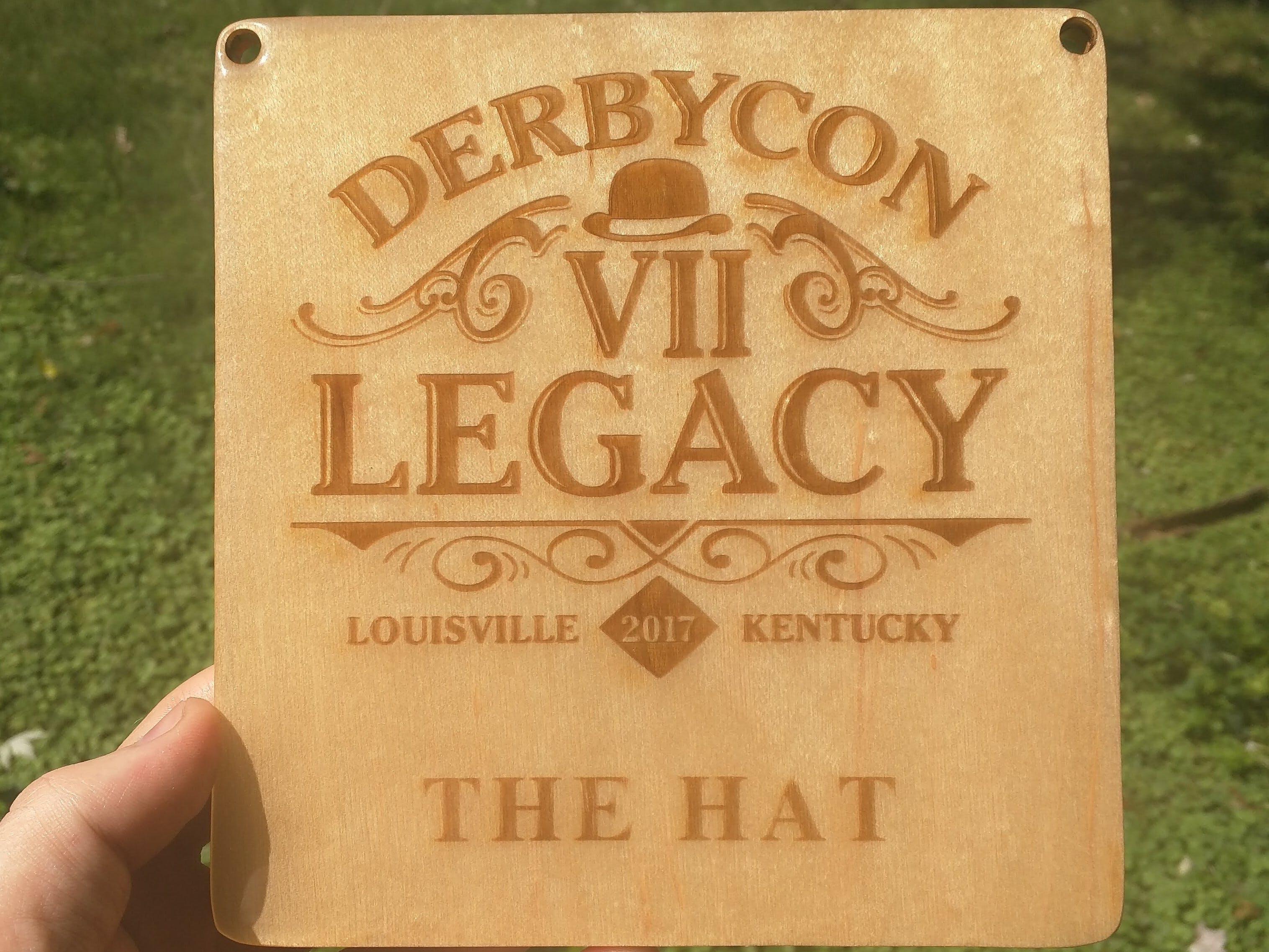 DerbyCon Legacy Black Badge