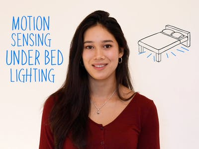 Motion Sensing Under Bed Lights