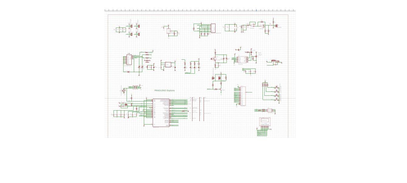 schematic for the Praduino Esplora