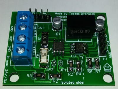 Isolated INA219 Module