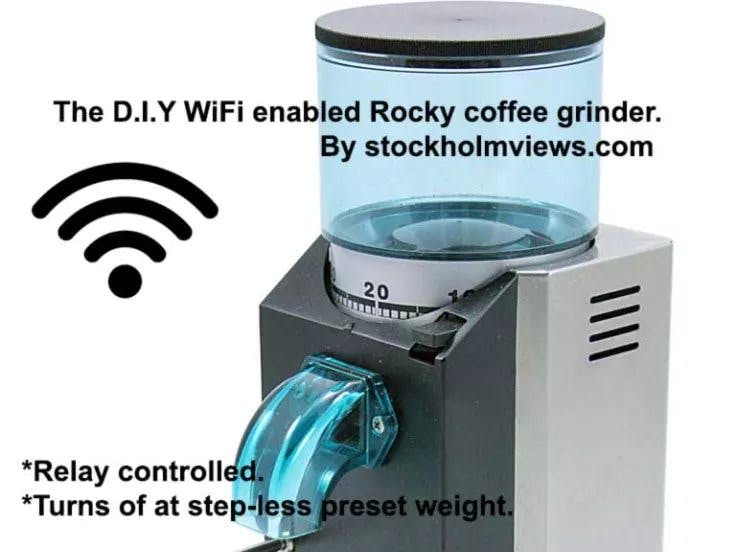 Weight-Based Coffee Grander with Blynk App