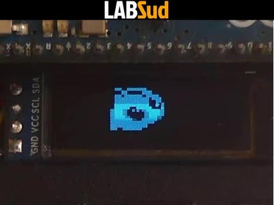 Pixel Art on OLED Display