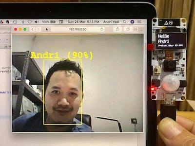 ESP32 + Azure Custom Vision