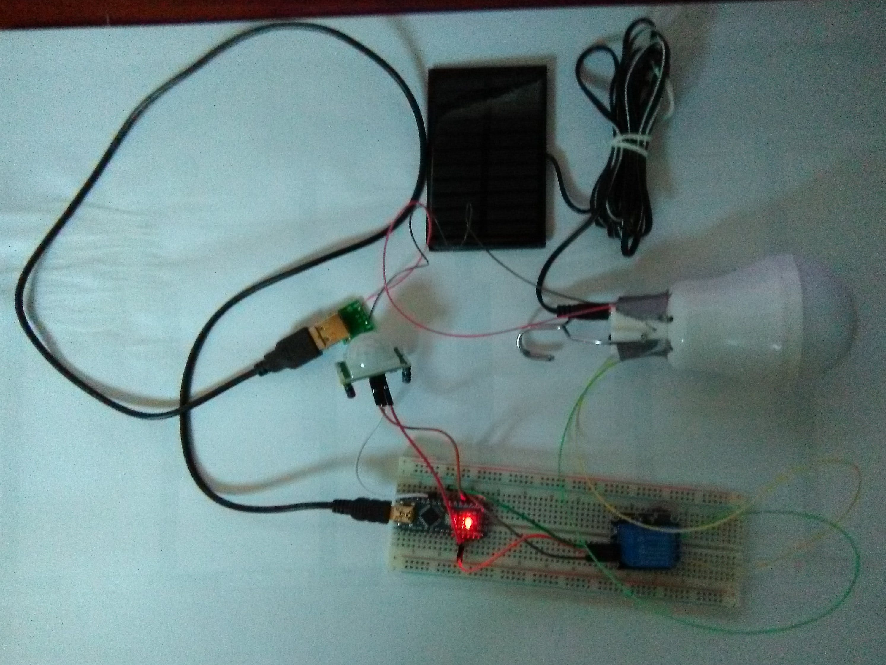 The Solar Lamp Works as Needed