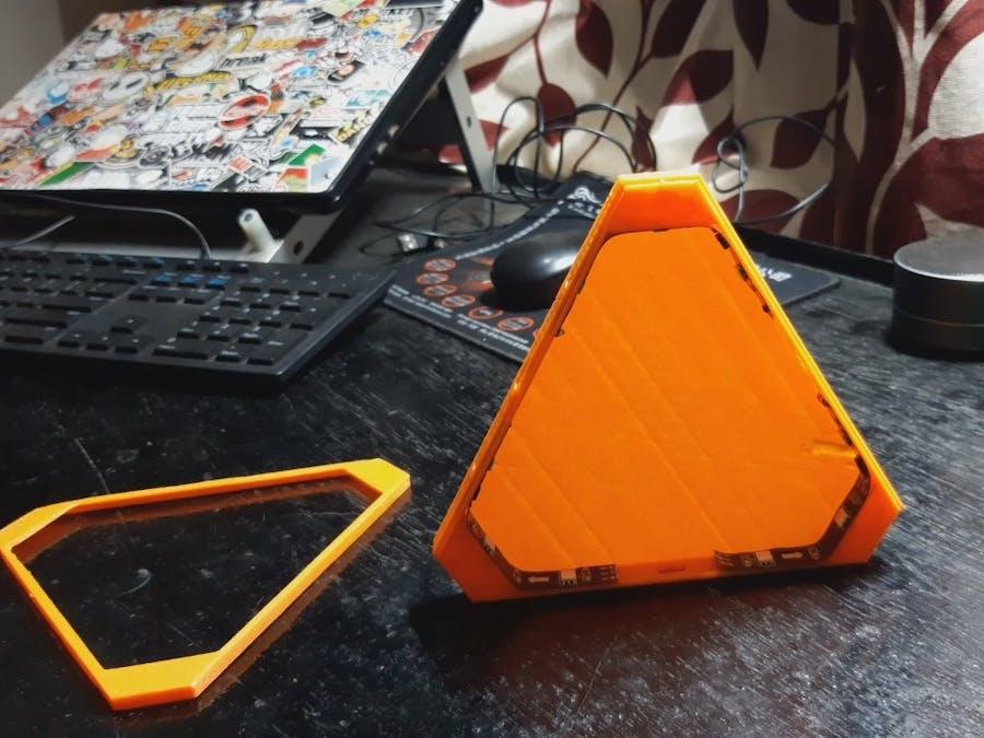 3D-Printed Nanoleaf ATtiny85