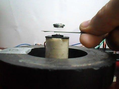 Arduino Repulsive Electromagnetic Levitation