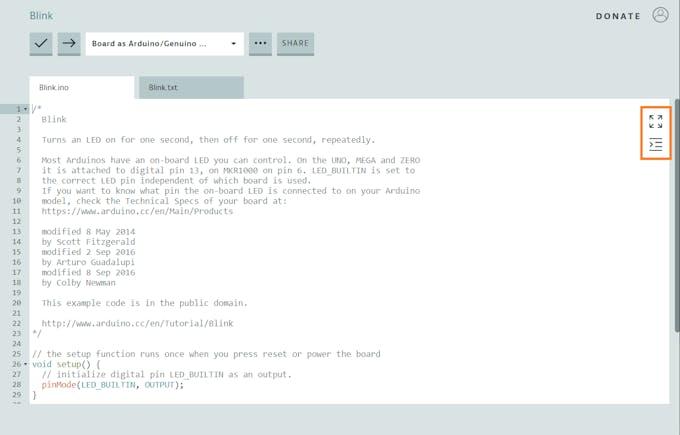 Code Window