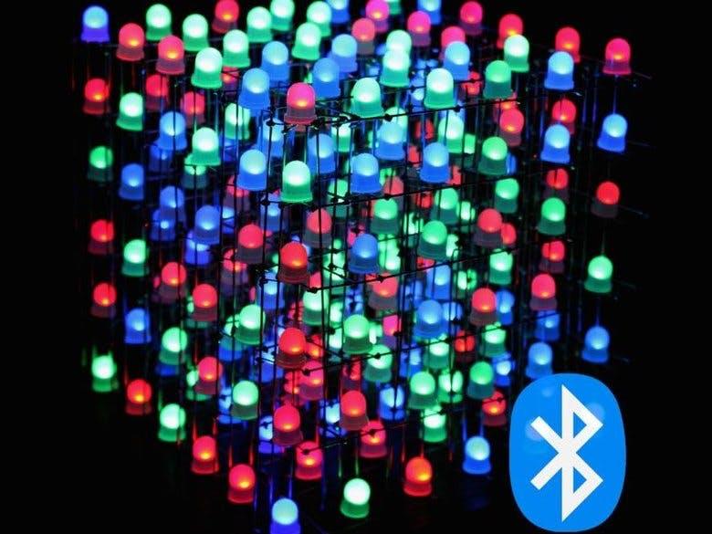 RGB LED Cube With Bluetooth App + AnimationCreator