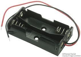 Battery Holder, AA x 2
