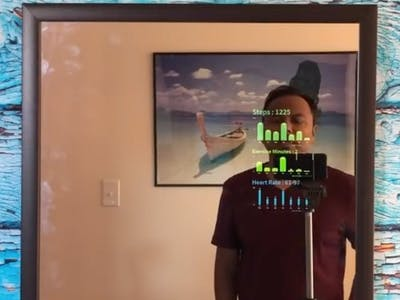 Make a Smart Mirror with Alexa in Under 10 Minutes