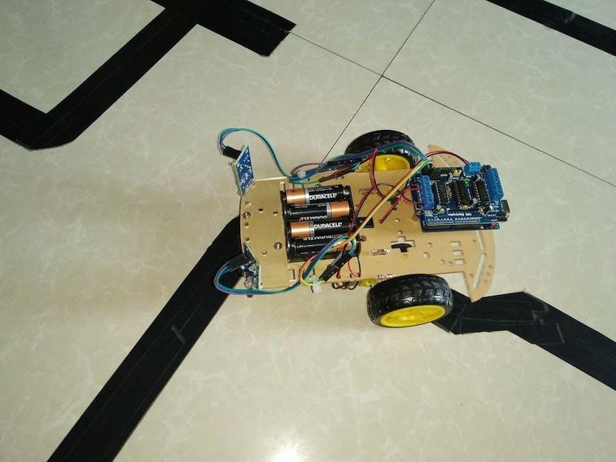 How to Make Line Follower Robot Using Arduino - Hackster io