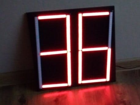 Large Display Controlled by SMS