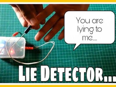 Lie Detector Using Arduino