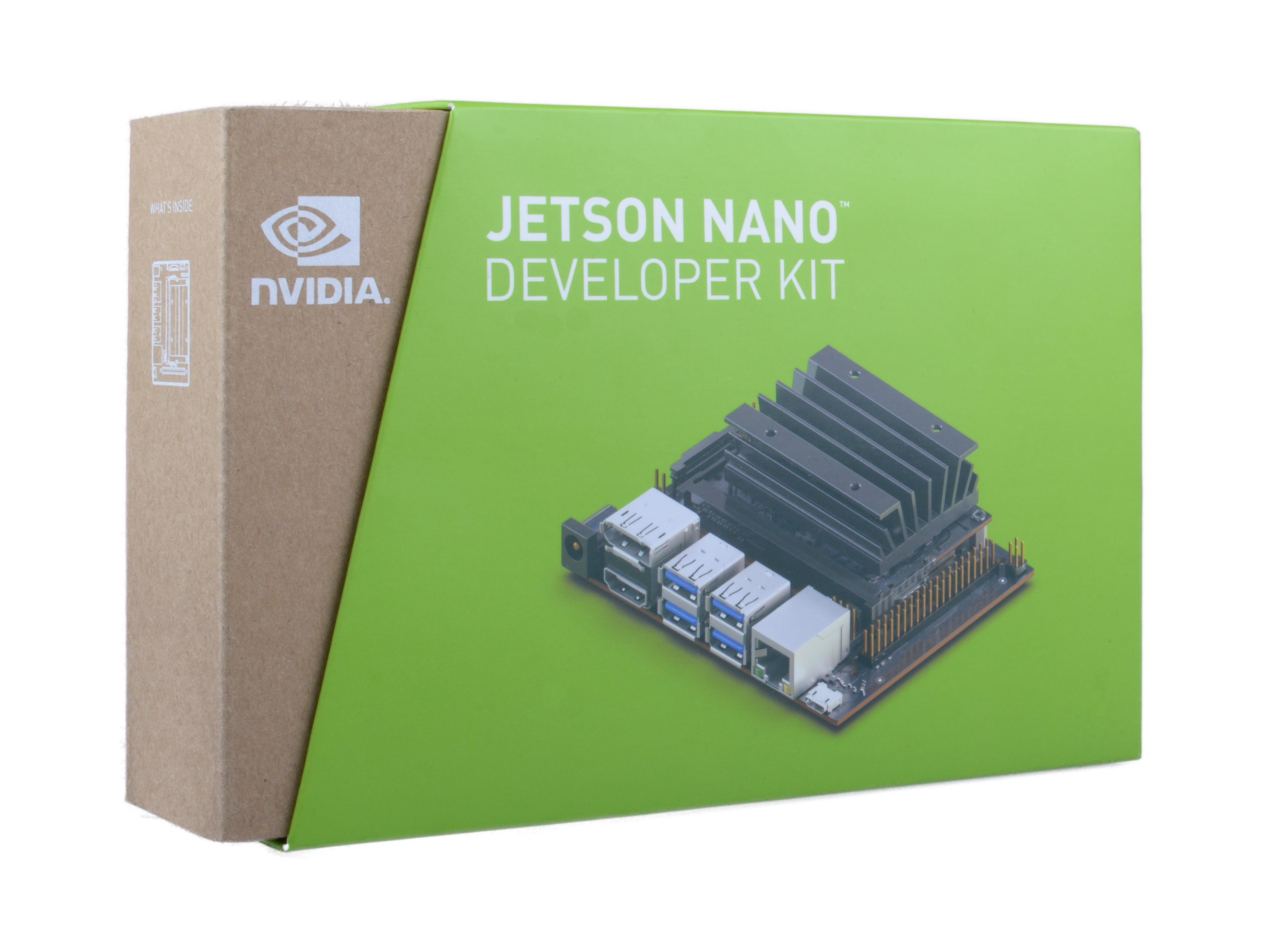 Unboxing of Jetson Nano & Quick Start-Up of Two Vision Demos