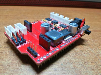 Development of Arduino Expansion for Mobile Robots