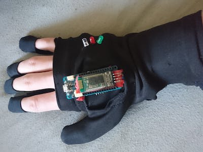 Wireless MIDI Glove