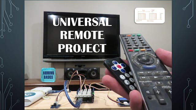 Grove IR Universal Remote Project