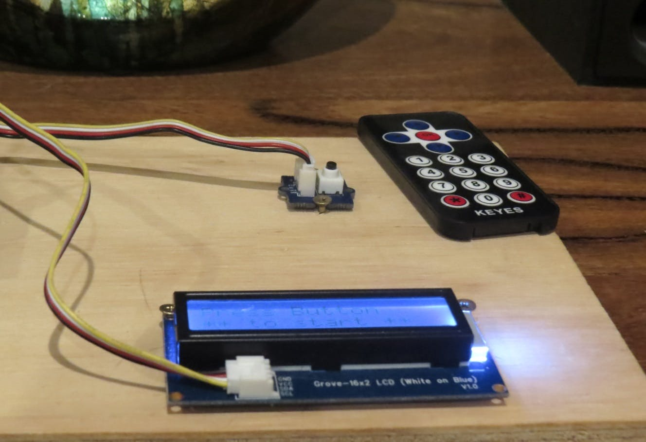 LCD and Button