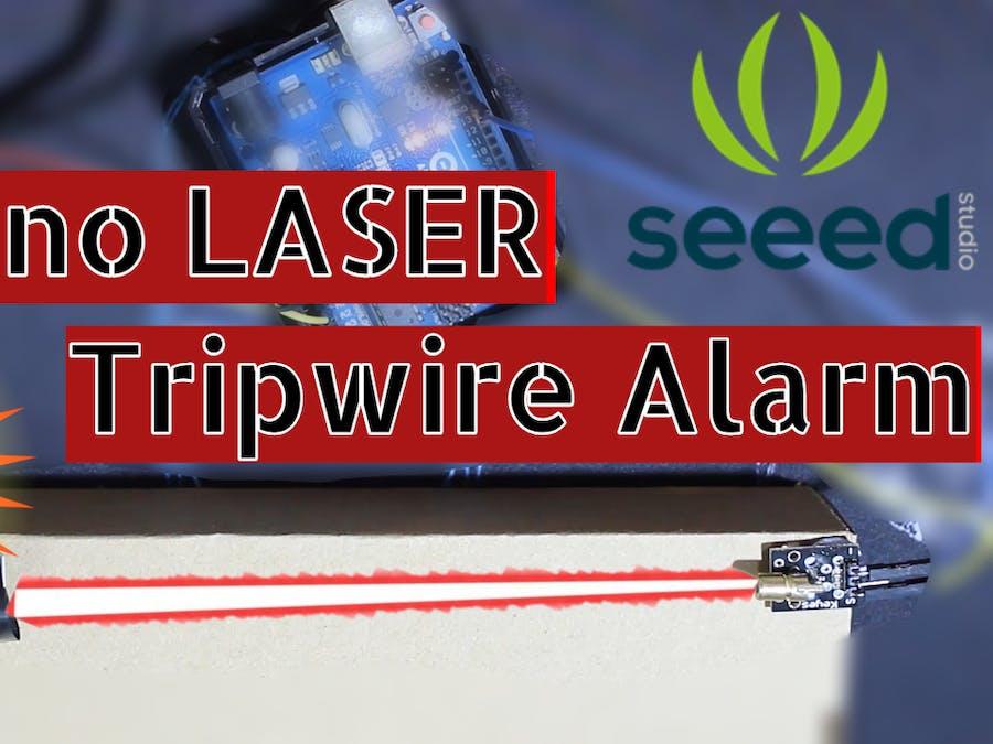 LASER Tripwire Alarm - Arduino